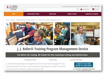 J. J. Keller® Training Program Management Service